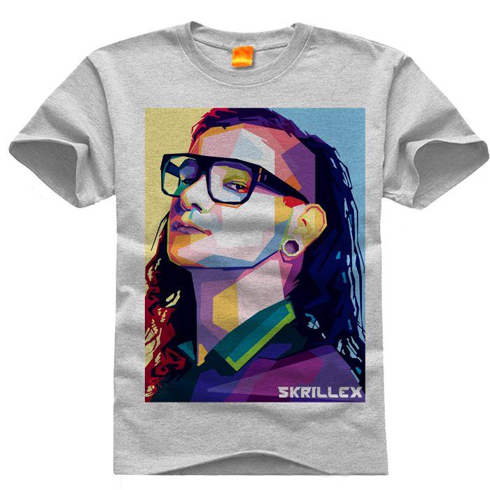 Aliexpress.com  Comprar Skrillex del o cuello camisetas casuales de manga  corta para hombre de la camiseta para Gameplayer hombre mujer t shirt  blanco Gary ... ee3fa03f262