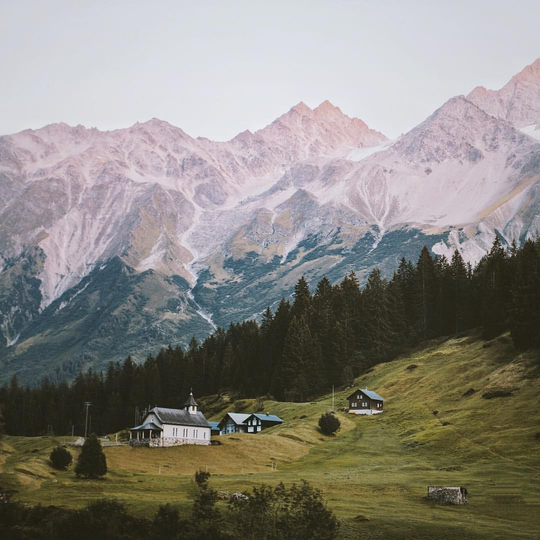 """Alex Strohl on Instagram: """"Spent the most peaceful night up in this little village only accessible by cable car. It was a great feeling walking into the village vs driving into it, really makes you appreciate every little detail. Maderanertal, Switzerland"""""""