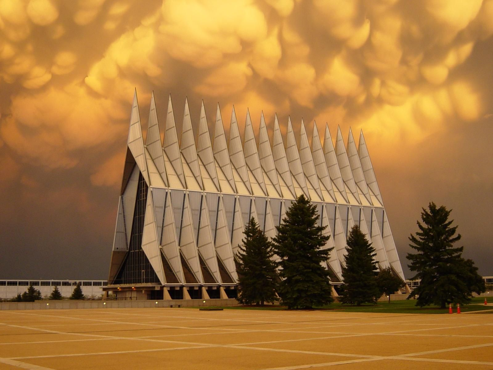 The United States Air Force Academy (Protestant) Chapel