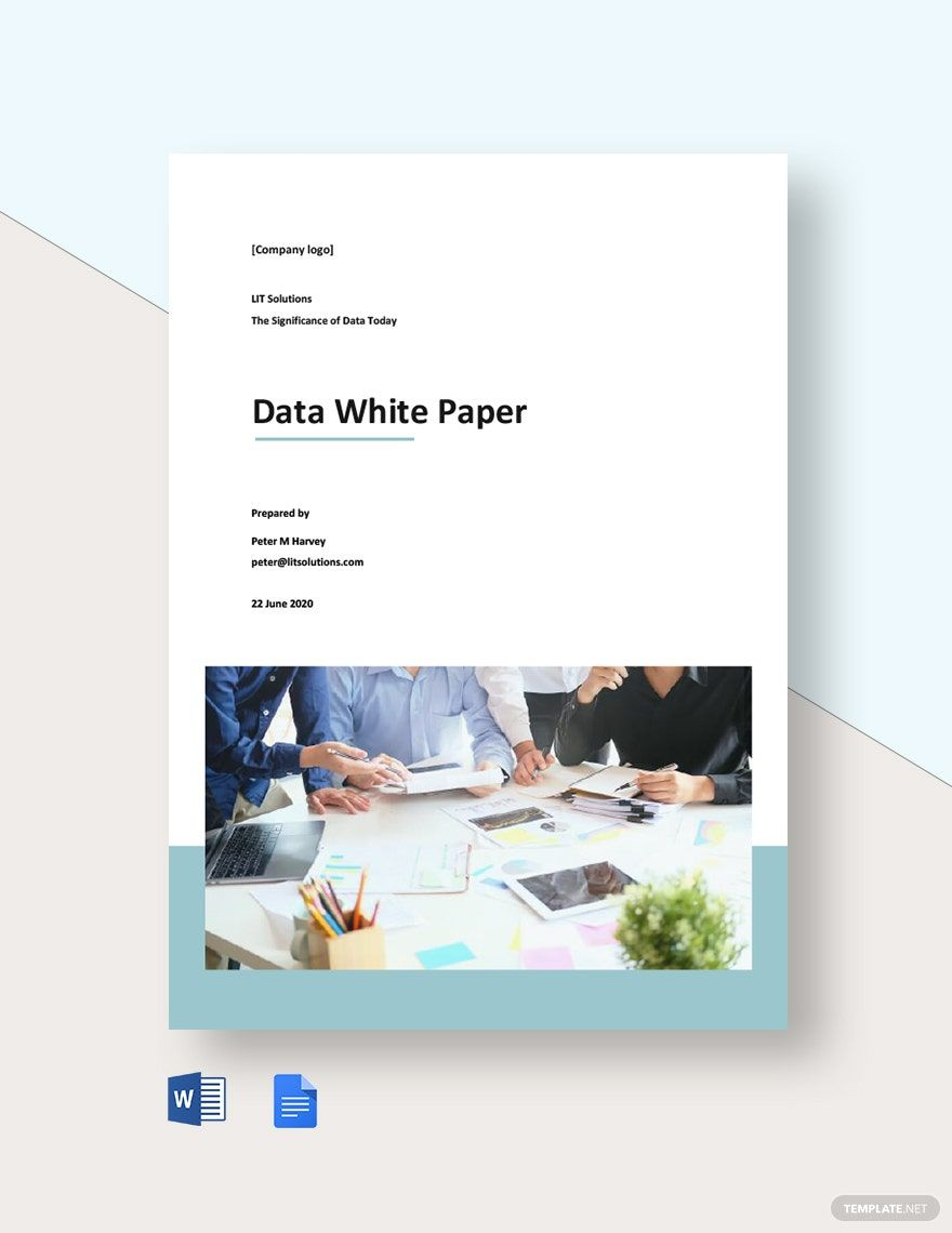 Free Sample Data White Paper Template Ad Ad Data Sample Free Template Paper Paper Template Free Paper Template White Paper