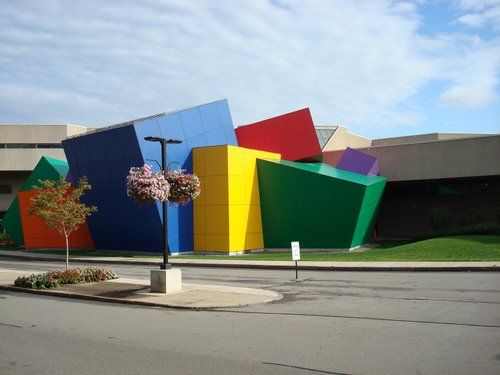 Trespa meteon also known as the national museum of play - Interior decorators rochester ny ...