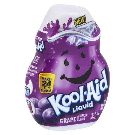Kool Aid Grape Liquid Water Enhancer 1 62 Fl Oz Bottle Healthy Drinks Kool Aid Water Enhancer
