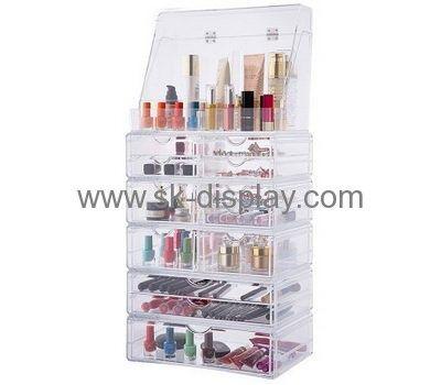Customized Acrylic Clear Makeup Organizer Plastic Makeup Organizer Storage For Makeup Co 216 Makeup Display Clear Makeup Organizer Acrylic Organizer Makeup