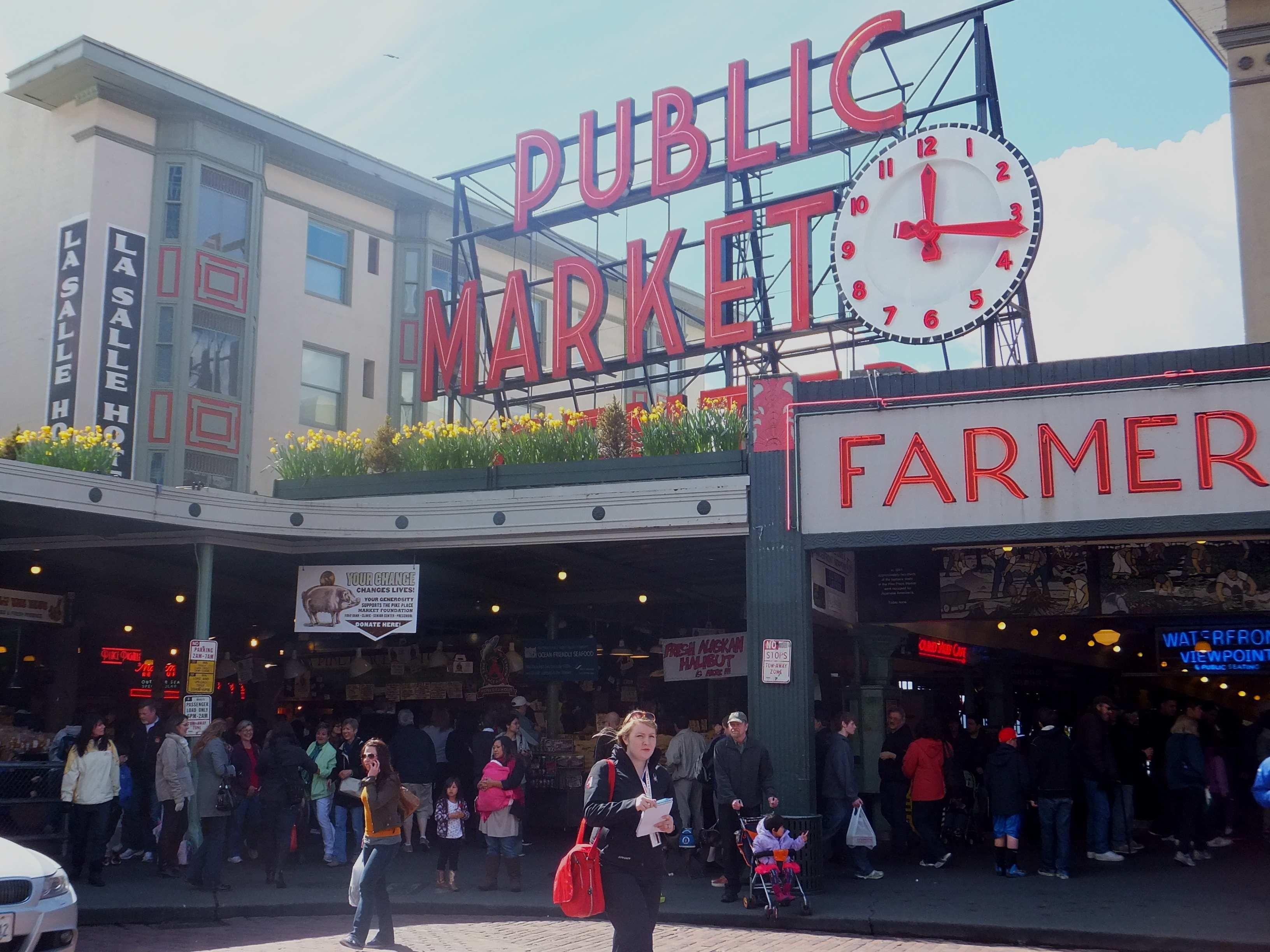 Pike place market Seattle WA USA Pike