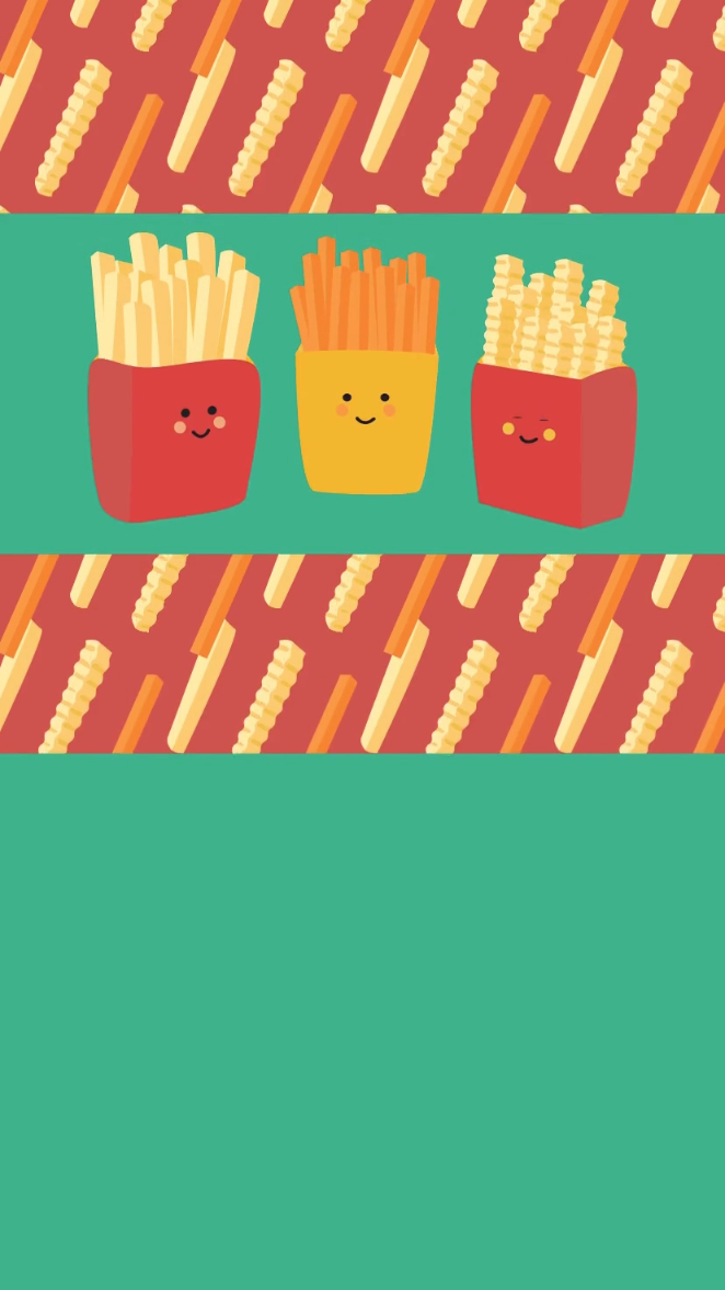 We Love French Fries So We Created This Free Animated Invitation Celebrate National French Fry Day July 13t Video French Fries French Fries Day French Fries Recipe