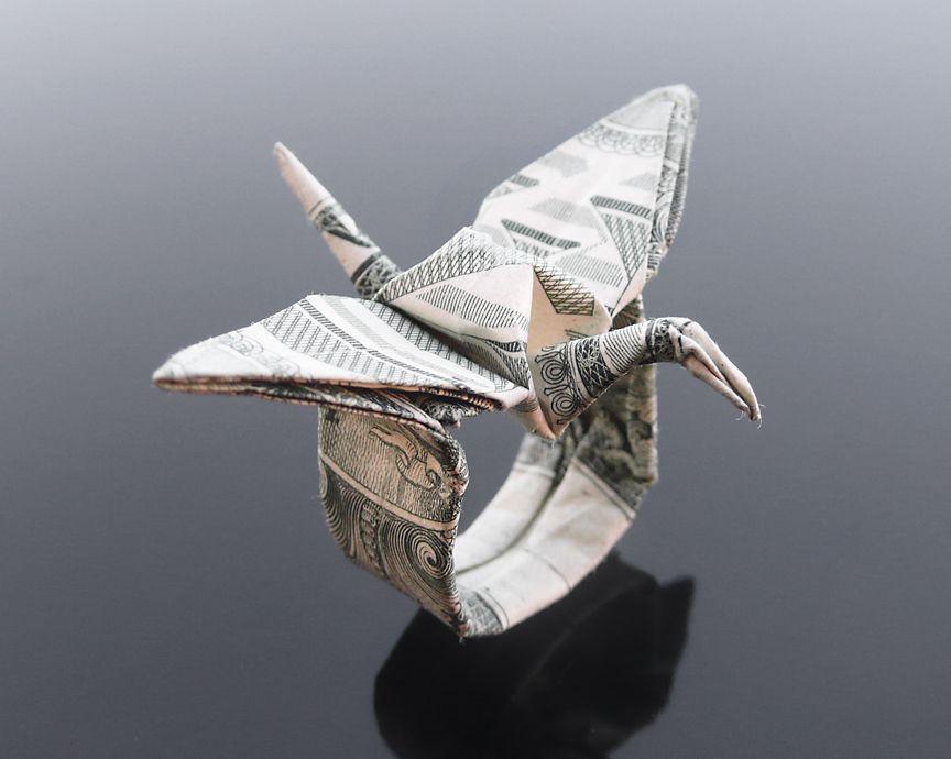 money origami ring women accessories pinterest money