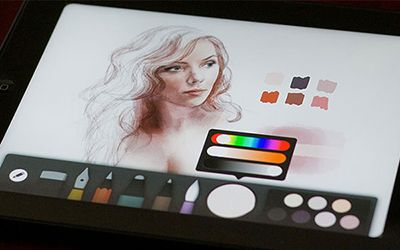 Mastering Paper For Ios Drawing Portraits And Faces Made Mistakes Paper App Ipad Drawings Ipad Art