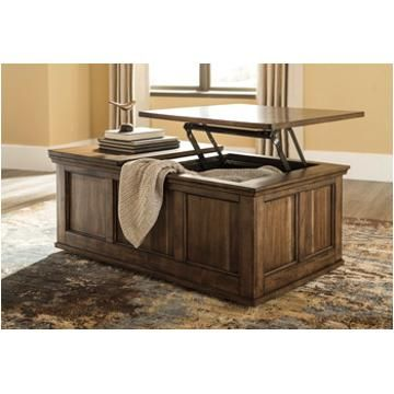 T919 9 Ashley Furniture Flynnter Lift Top Tail Table