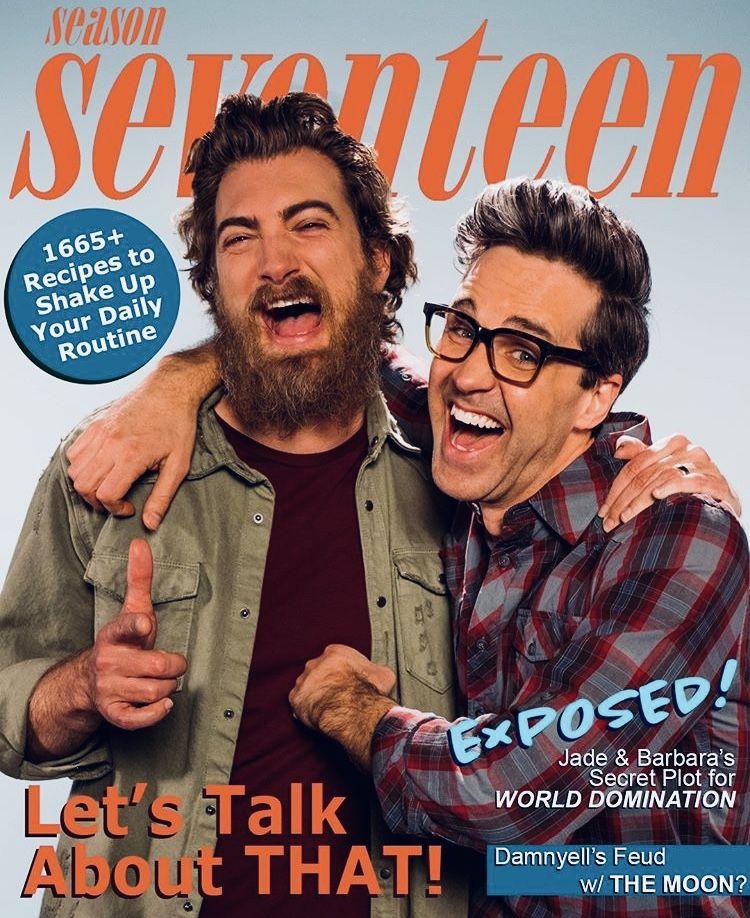 Gmm Season 17 In 2020 Rhett And Link Good Mythical Morning Let Them Talk