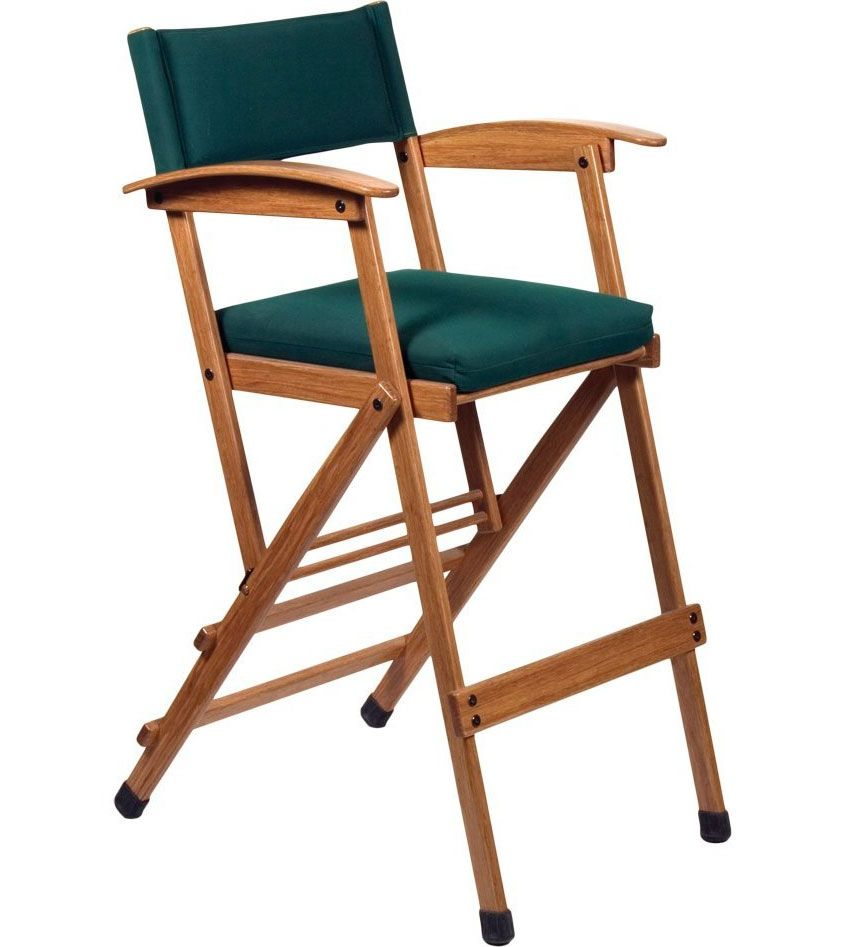 This Tall Elm Directors Chair Is Sure To Provide Comfortable And High  Qualityu2026