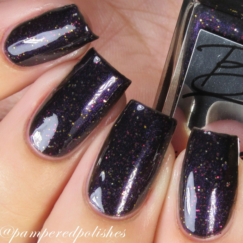 Custom Order for Chris Magic Potion - blackened purple polish for ...