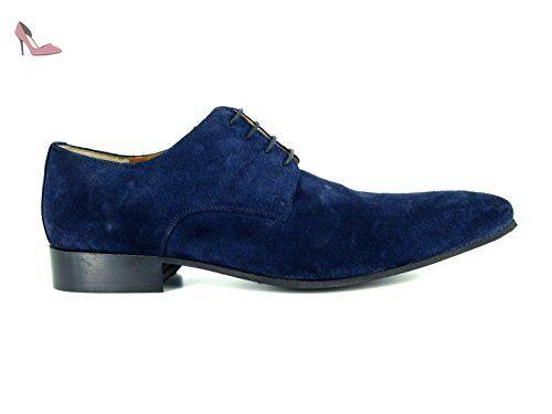 J.BRADFORD Chaussures Mocassins JB-BATIN Marine - Couleur - Bleu, Taille Chaussures - 45