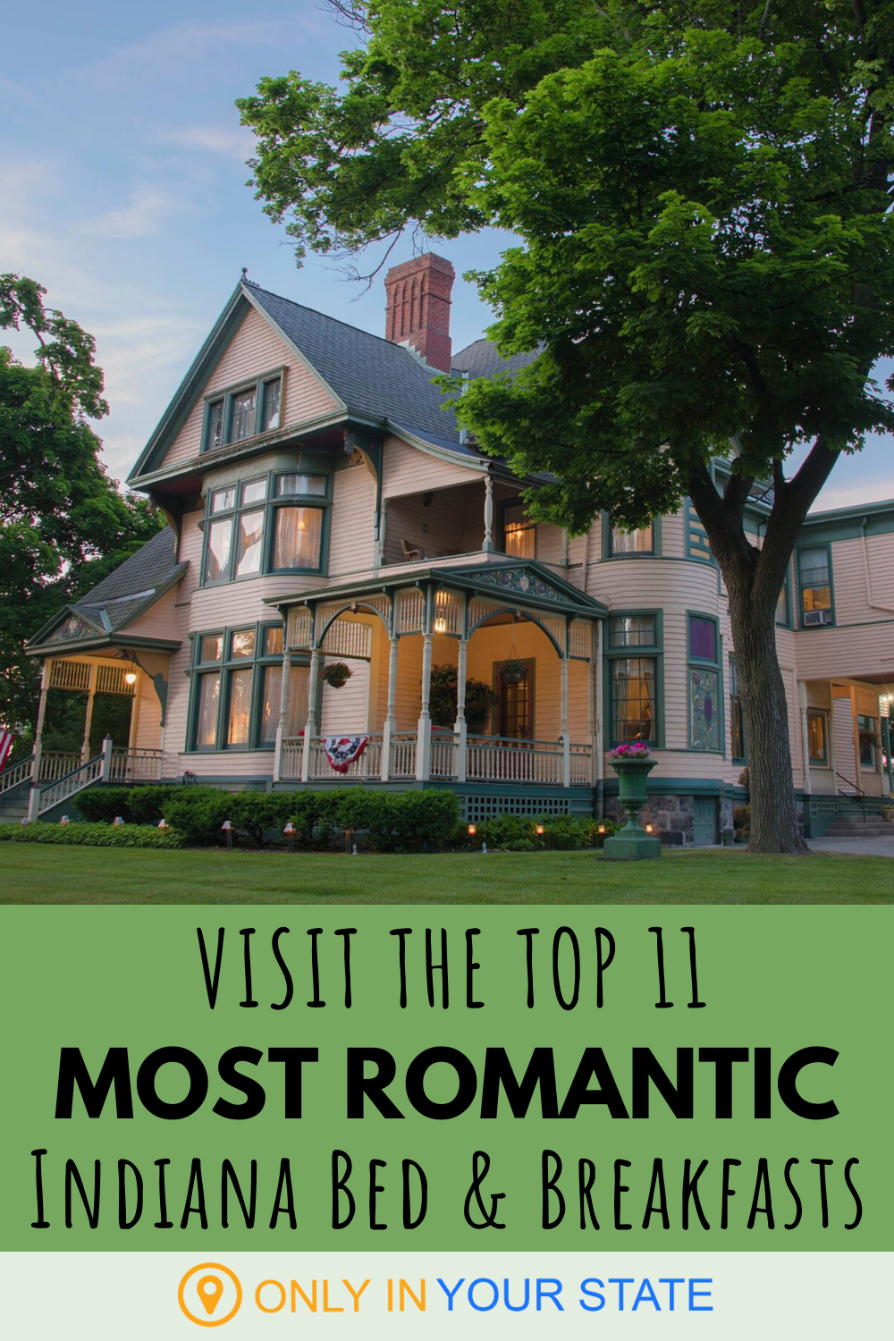 11 Indiana Bed And Breakfasts That Make For The Most
