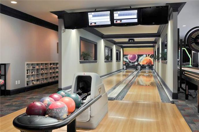 30 Suggestions For Home Installed Bowling Alley Lanes Home Bowling Alley Home Theater Seating Home Theater Setup