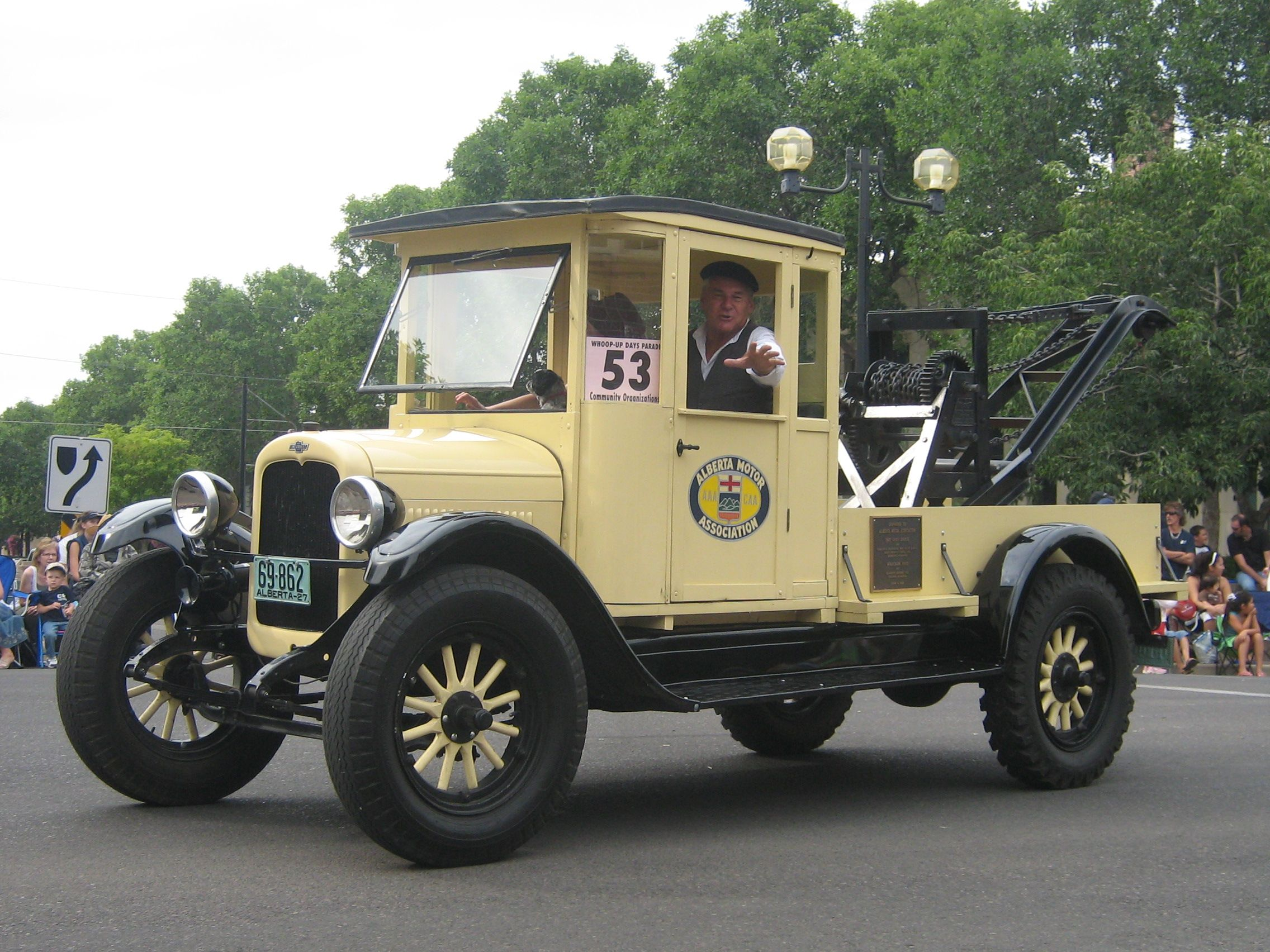 1920 chevrolet tow truck