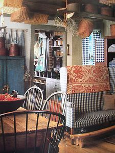 Country Primitive Home Decor on Primitive American Country Home Early ...