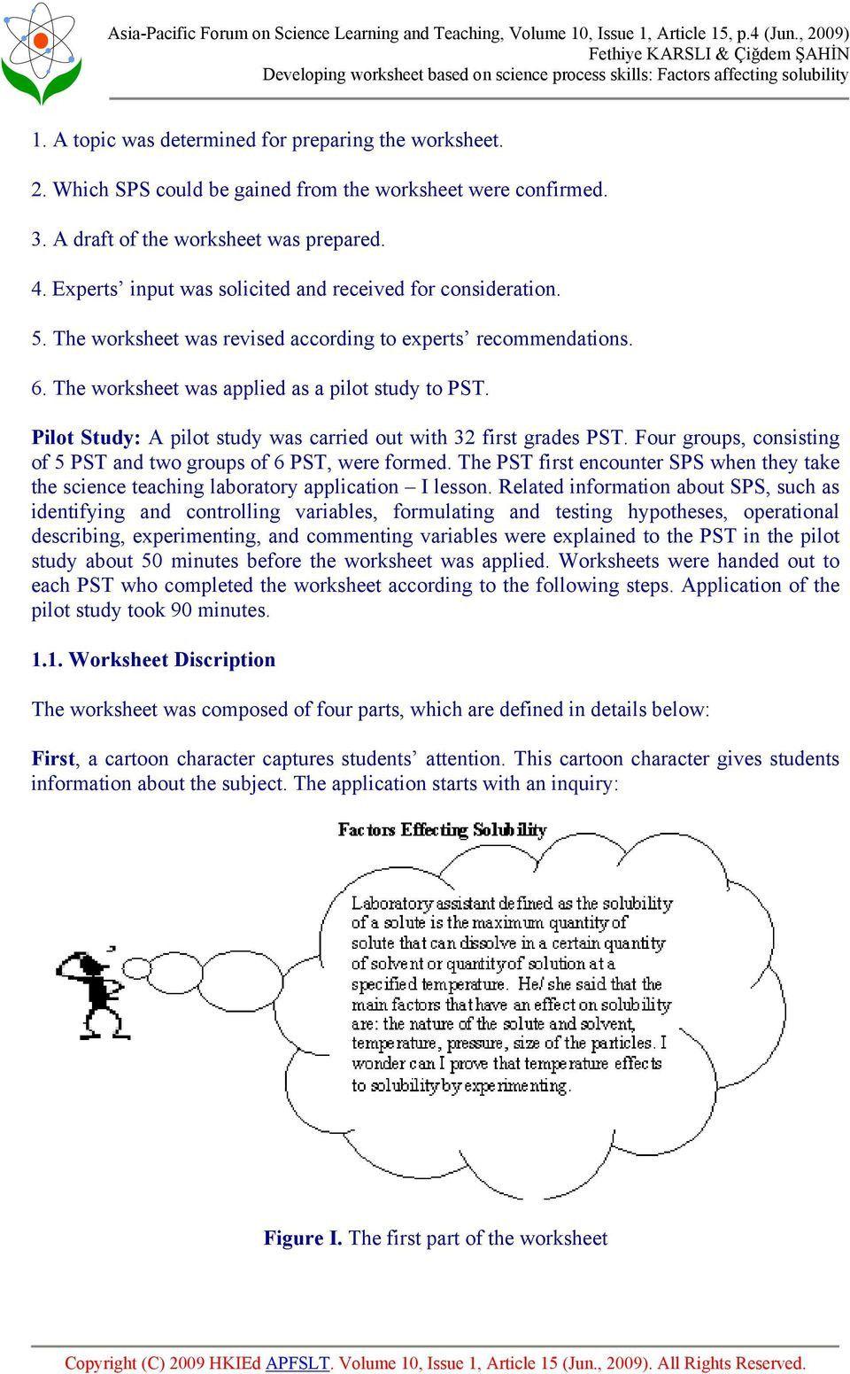 Scientific Method Worksheet 4th Grade in 2020 Science