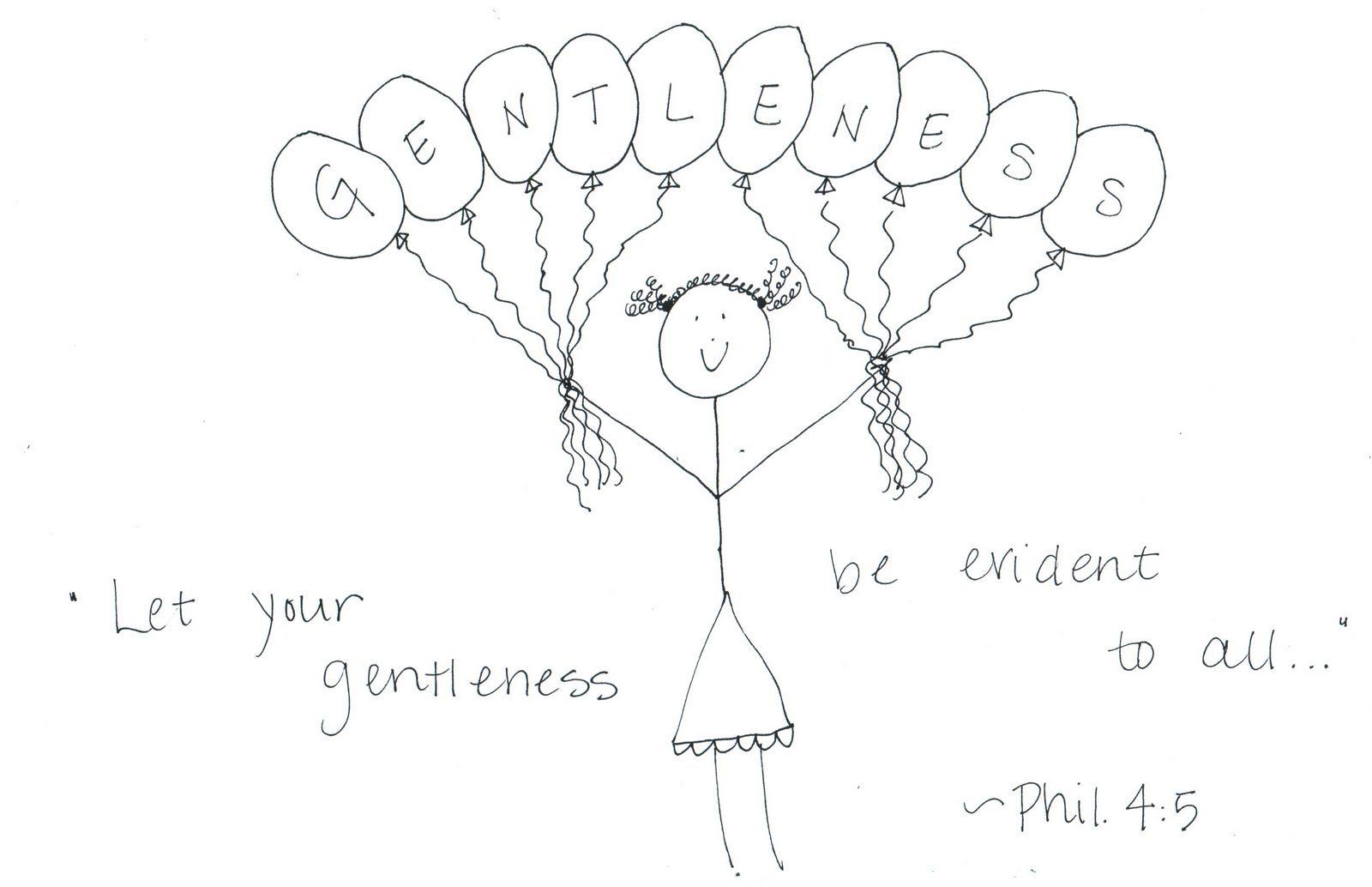 the homespun heart: Fruit of the Spirit: Gentleness | Mission ...