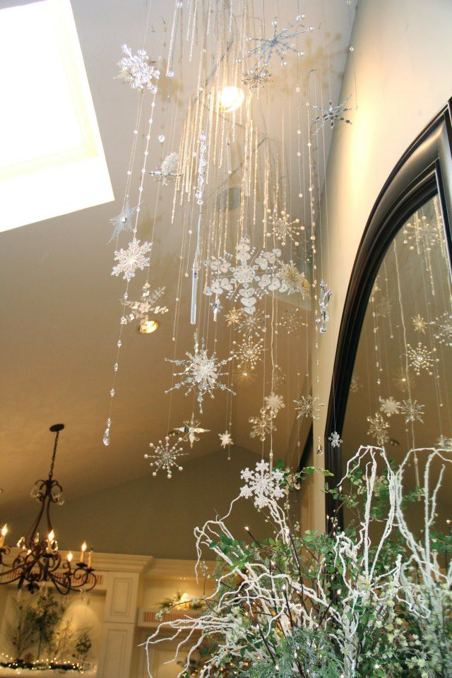 The beauty of the best house best decor christmas 2012 for Christmas ceiling decorations
