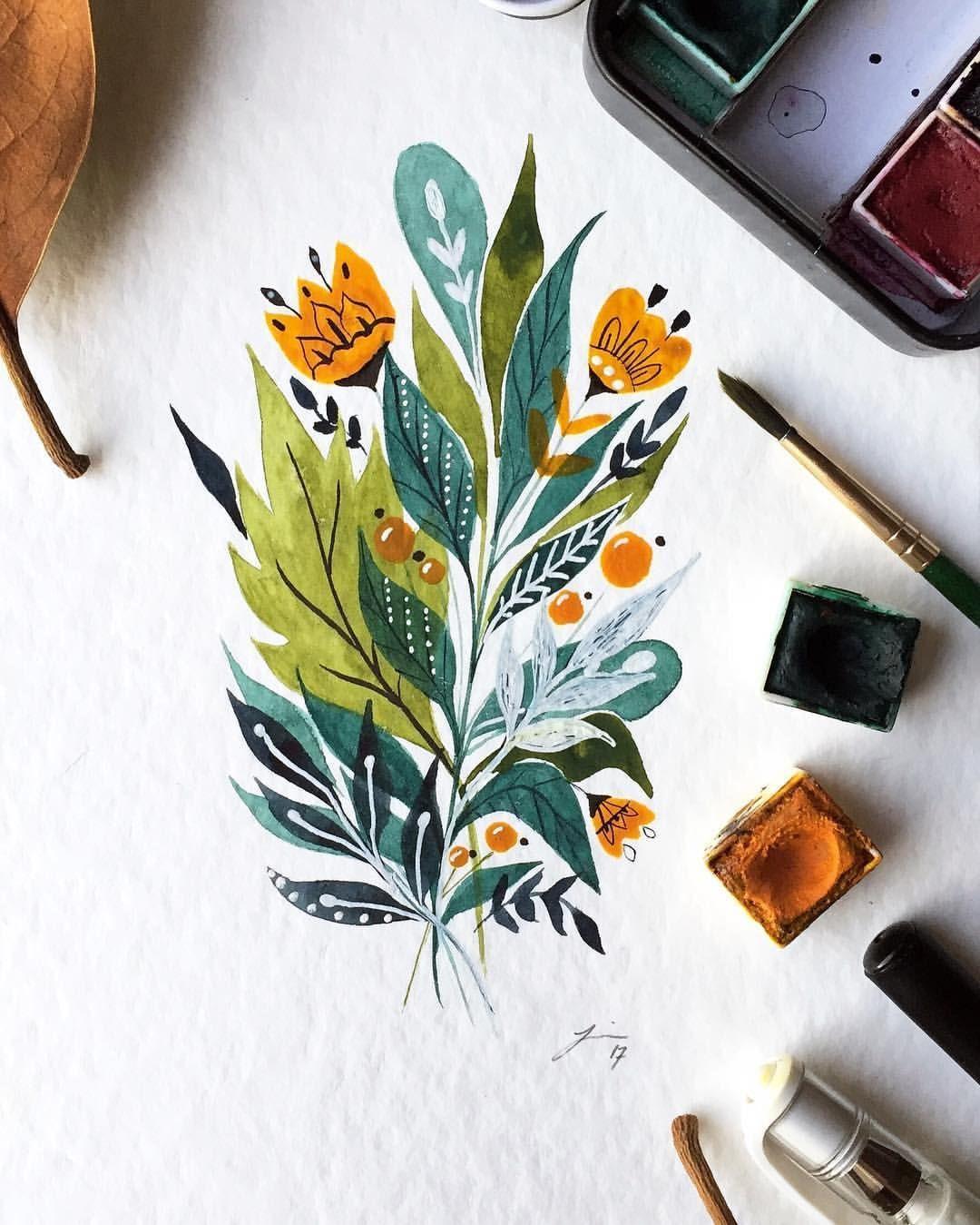 Pin auf Watercolor Arts