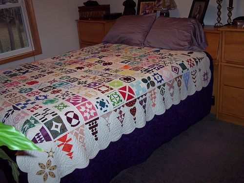 "Dear Jane ""Insanity"" quilt | pinned by haw-creek.com"