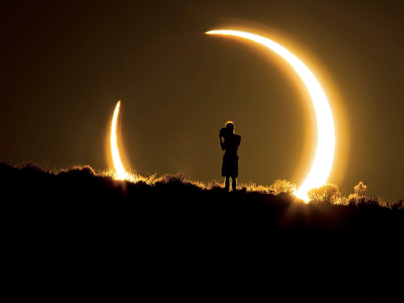 Joke: 23 oktober gedeeltelijke zonsverduistering