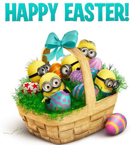 The Minions Wish You Happy Easter Happy Easter Pictures Happy Easter Day Happy Easter