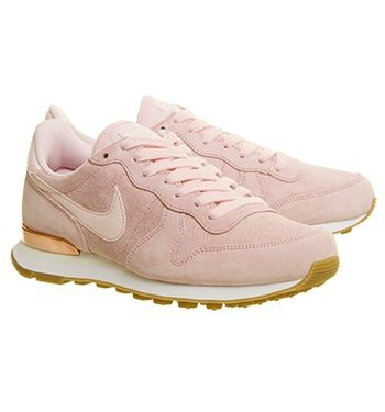 Nike Nike Internationalist Trainers Prism Pink White Sheen - Hers trainers c6e55fcb3