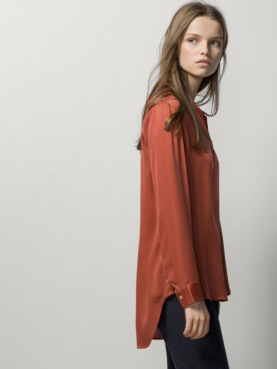Natural silk, Massimo Dutti