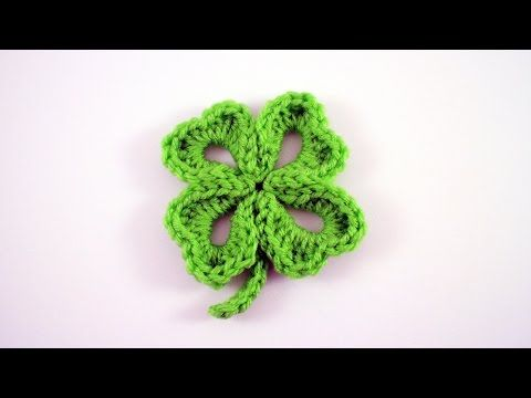 Crochet Four Leaf Clover Free Pattern Video Tutorial Bhooked