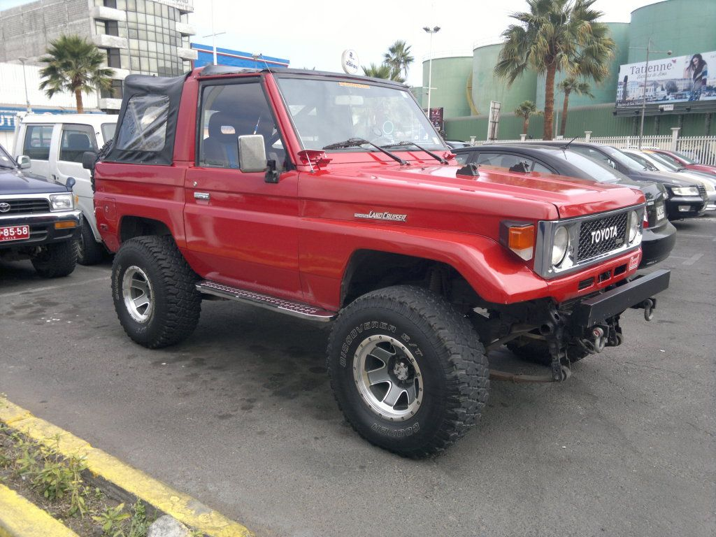 Venta Jeep Toyota Land Cruiser Chile Wolle Kaufen