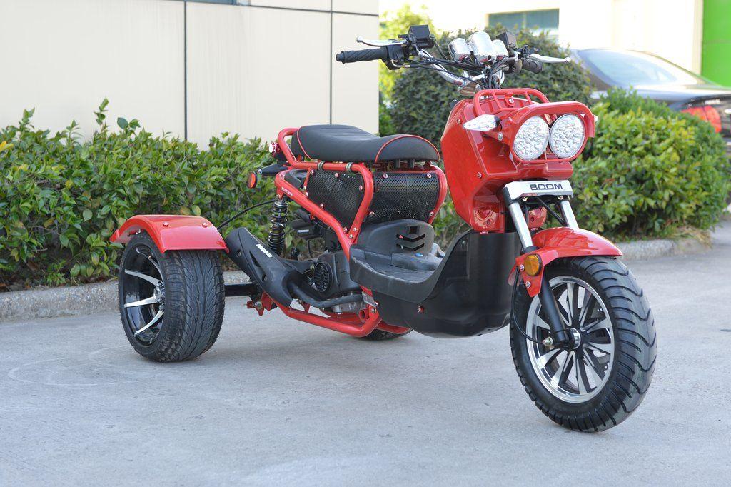 Buy honda ruckus trike boom bd50qt3atw scooter moped