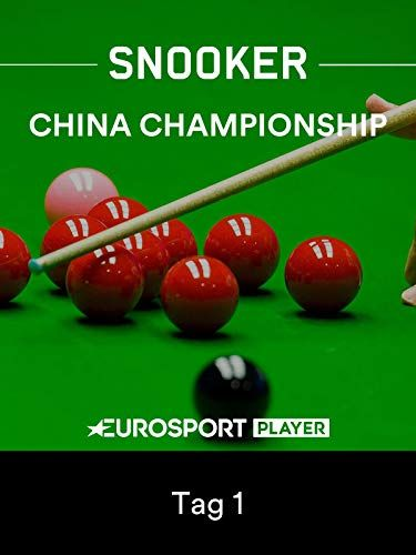 Snooker China Championship 2019 in Guangzhou  Tag 1