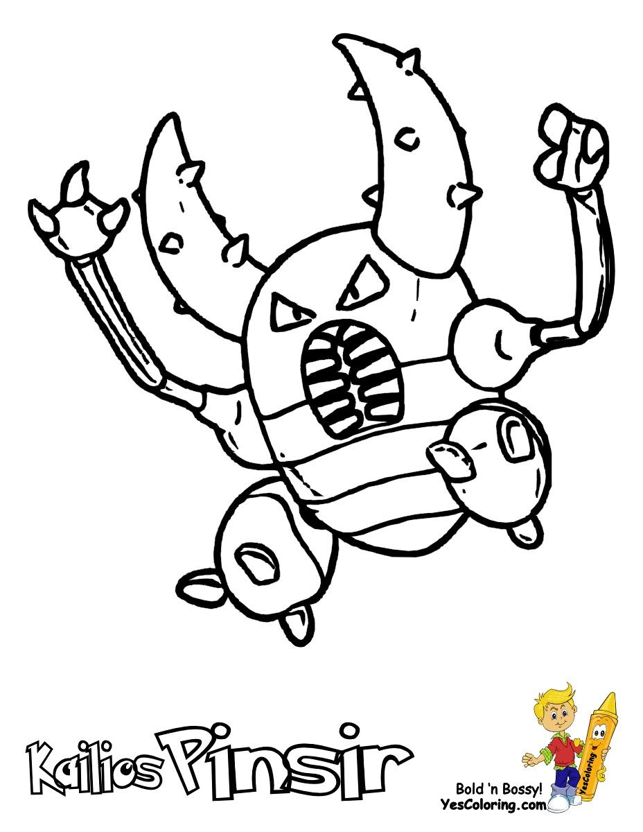 Pokemon Coloring Pages Rhyhorn Pokemon Coloring Pokemon