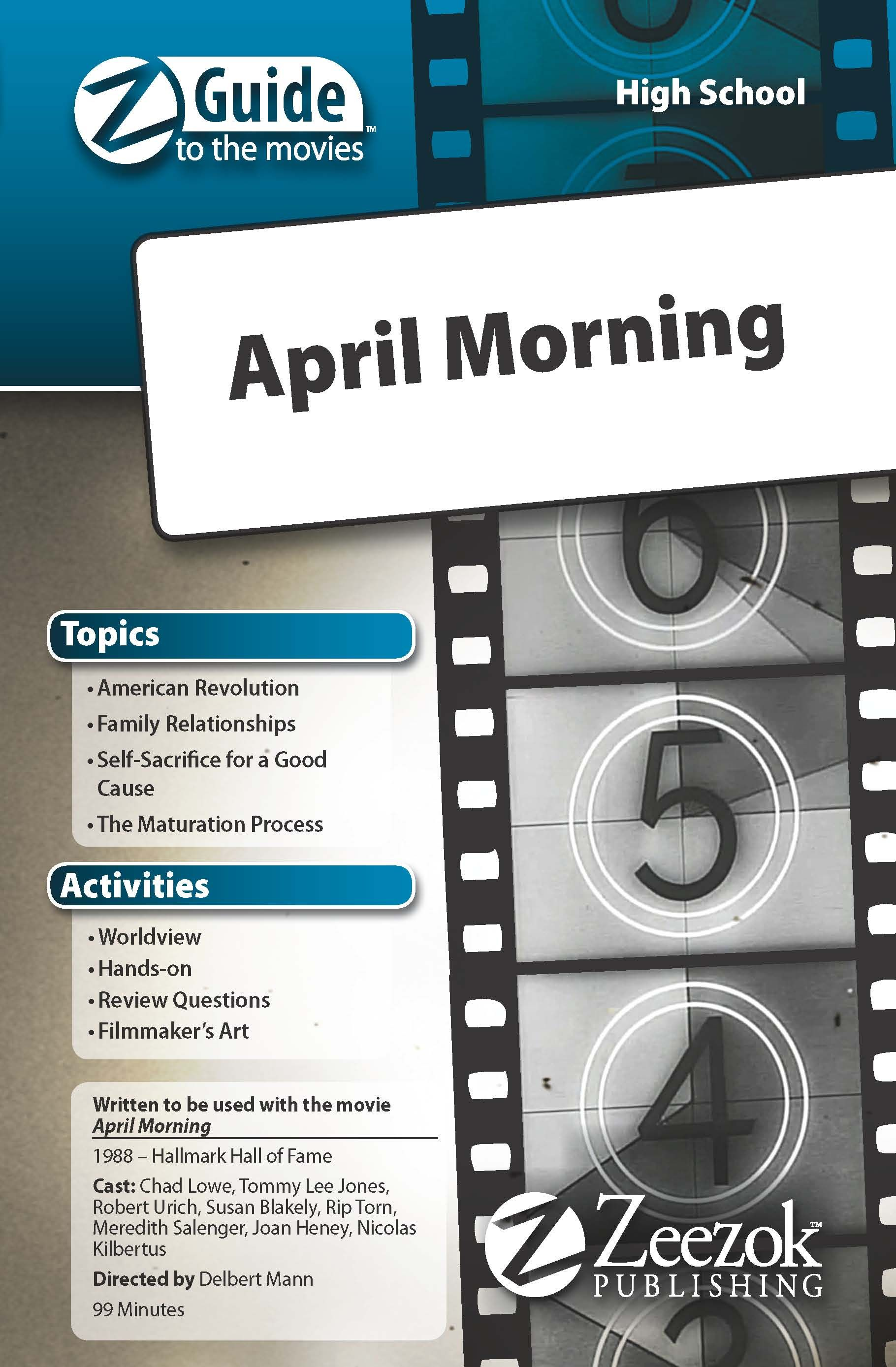 Click to buy the April Morning ZGuide for your high