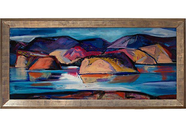 Lake Cachuma By Channing Peake On Onekingslane Com Art Cool Artwork Art Inspiration