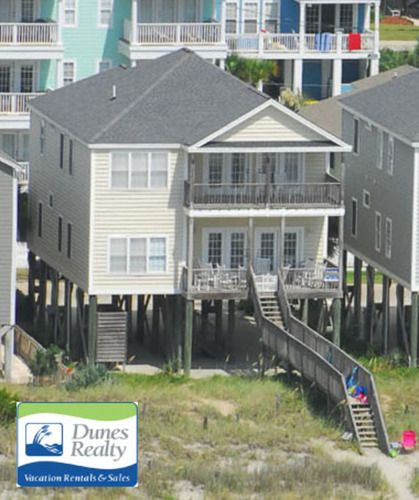 Oceanfront Vacation Condos: Surfside Beach Rental Beach Home: Floramay I