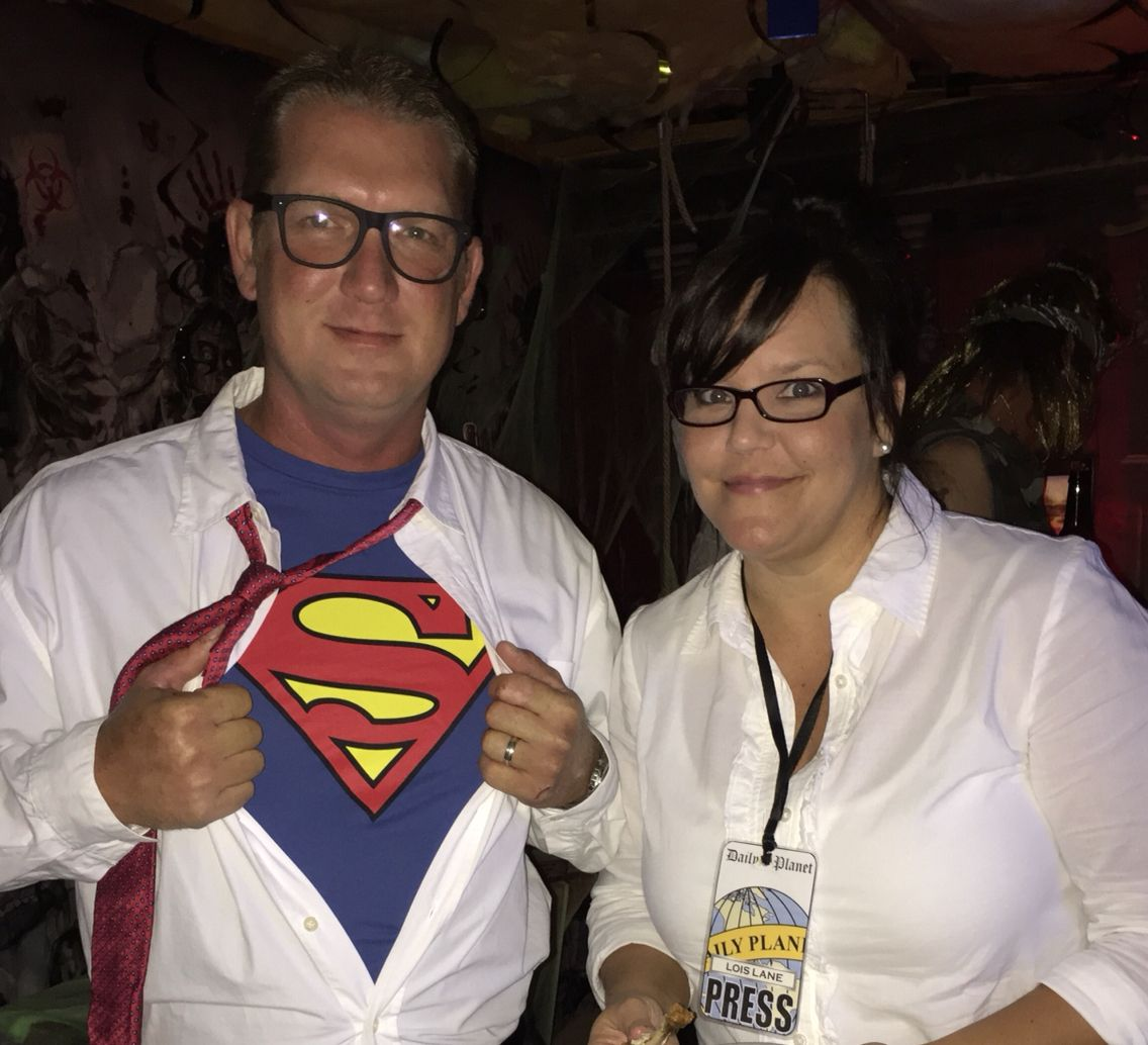 Superman - Clark Kent and Lois Lane Costumes - Halloween Party ...