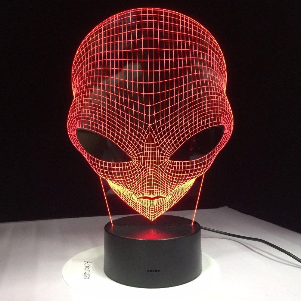 Alien Shape Hologram Light Lamp Price  4299  FREE Shipping