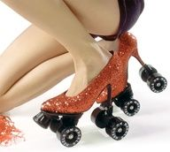 Roller Skate High Heels