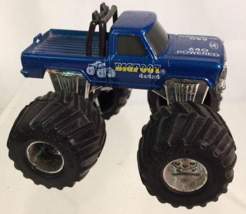 Rare Vintage 1985 Matchbox Bigfoot Monster Truck Monster Trucks Matchbox Hot Wheels