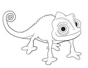 Tangled Pascal Coloring Pages Printable