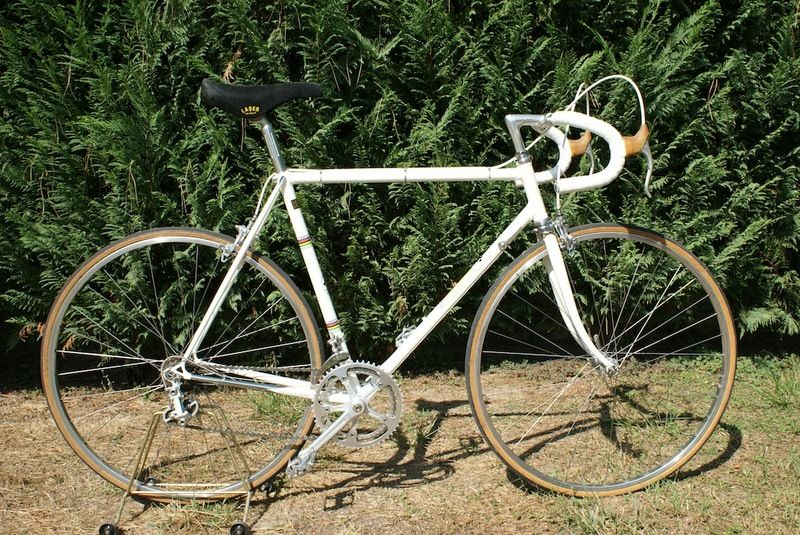 """Colnago Super 1969/70 Restored"" posted: 2012/08/27 categories: Colnago Super, Restored Bike, Road Bike"