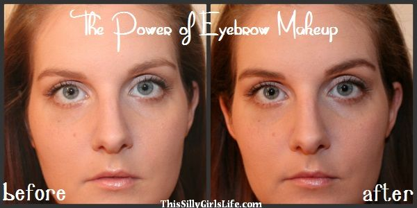 The Power of Eyebrow Makeup - This Silly Girl's Life