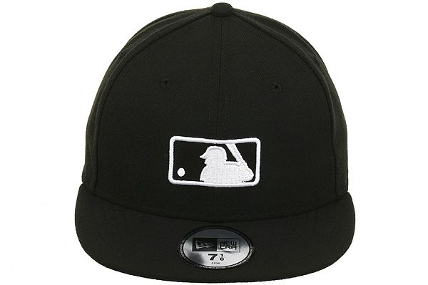 e07ea2fc2bb New Era Major League Baseball Umpire Fitted On-Field Hat. Black and White-   34.99.