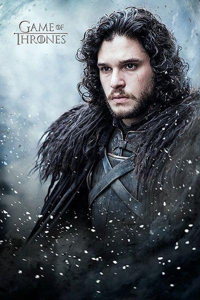 Póster Jon Nieve Juego De Tronos Temporada 6 Póster Basado En La Sexta Temporada De La Serie De Tv Juego De Tronos Game Of Thrones Poster John Snow Jon Snow