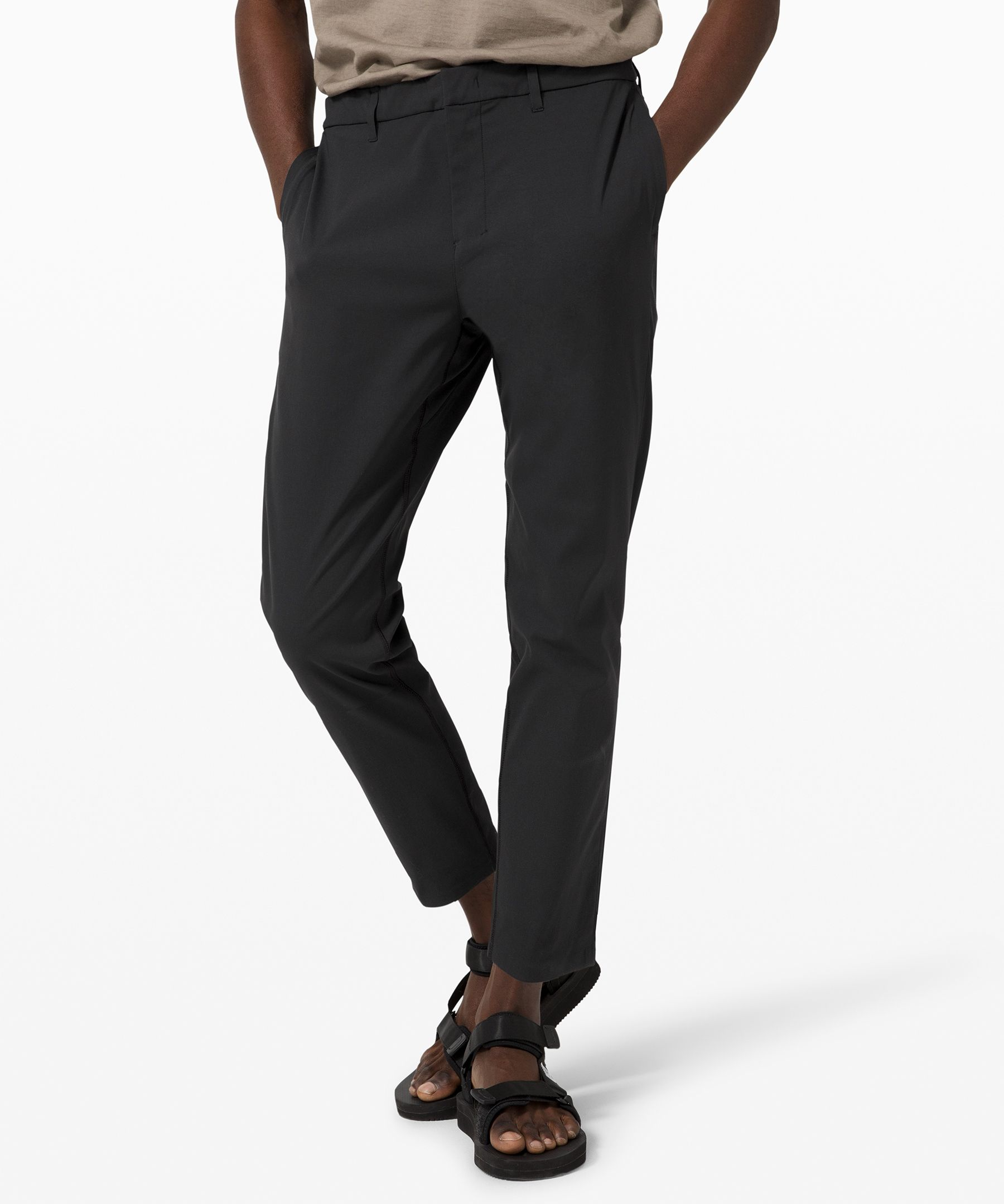 Photo of lululemon Men's Take The Moment Travel Pant 28″ lululemon X Robert Geller, Black, Size 36
