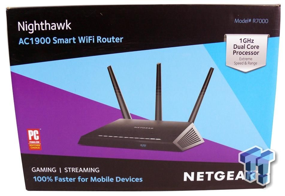 Netgear Nighthawk R7000 AC1900 Smart WiFi Router Review
