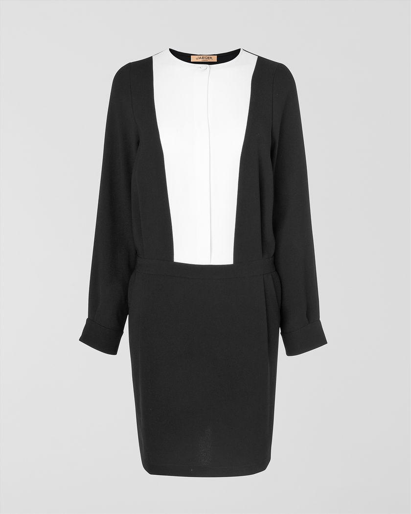 Tuxedo Dress by Jaegar