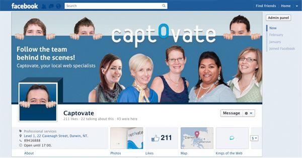 Captovate | Facebook Timeline Design | Pinterest | Facebook timeline
